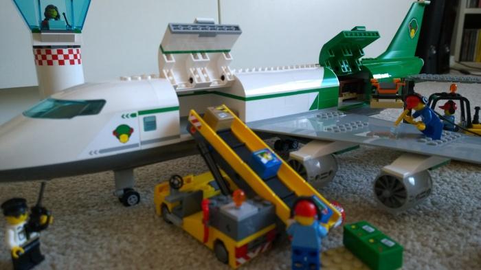 Lego Cargo Plane