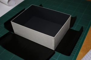Position the box