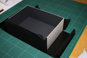 Folding the corners